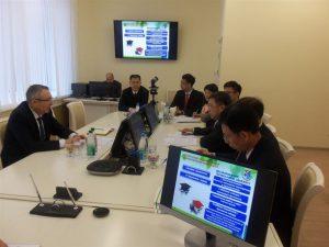 БГТУ посетила делегация городов китайской провинции Гуандун