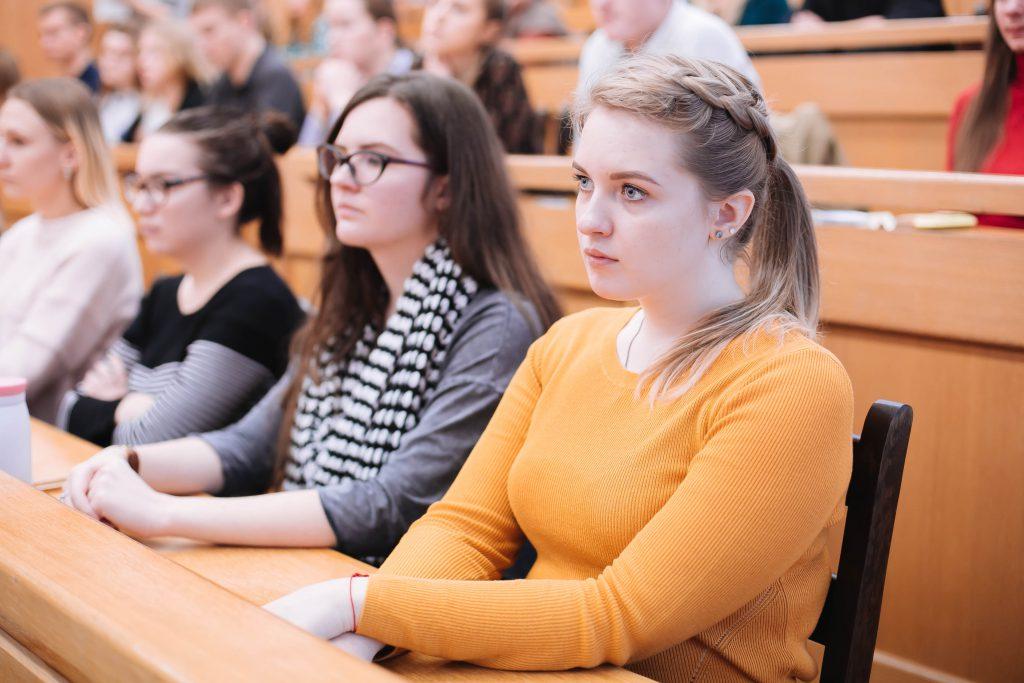 Председатель Федерации профсоюзов Беларуси Михаил Орда посетил БГТУ
