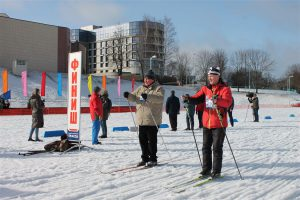 «Веснянка» надела лыжи: как прошла субботняя Всебелорусская студенческая лыжня
