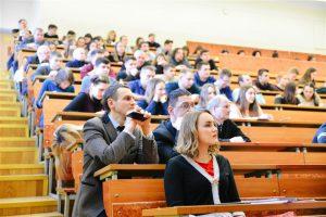 Вопросы предпринимательства затронул Единый день информирования в вузе