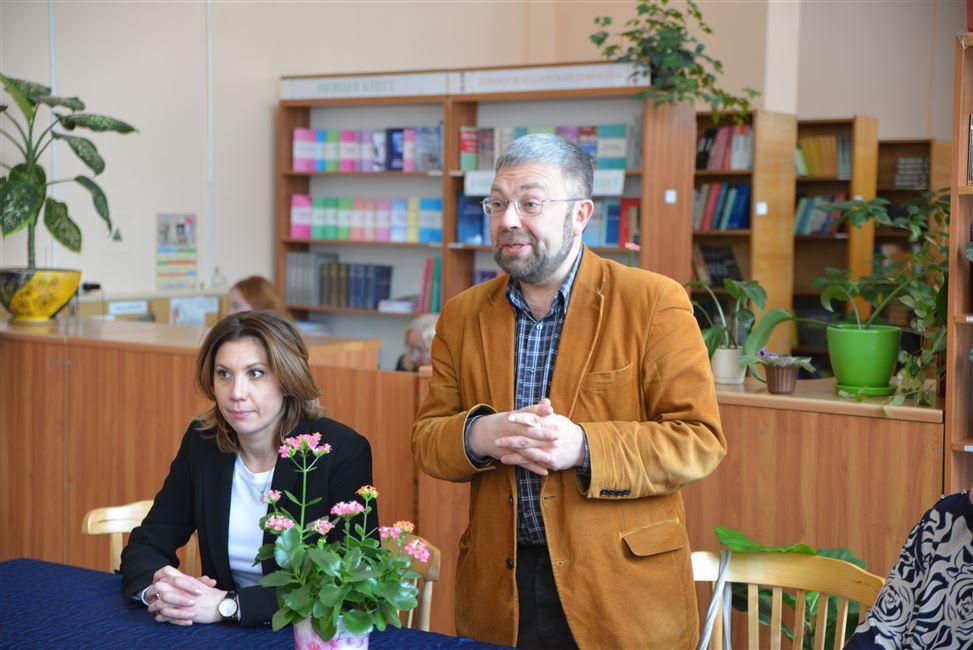 Встреча Максима Амелина  со студентами БГТУ