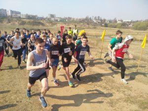 Весенний легкоатлетический кросс среди учащихся Витебского колледжа