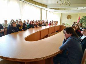 Студенты ВГТК приняли участие во встречах с врачами