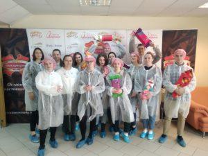 «Перед глазами – картинка шоколадных водопадов»: студенты ТОВ посетили фабрику «Коммунарка»