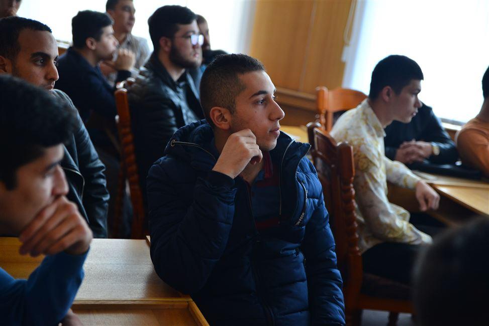 Ликбез для иностранных студентов: встреча с представителями РУВД