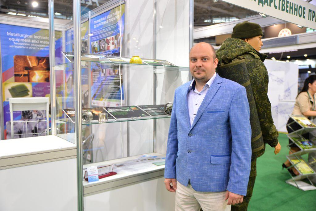 БГТУ участвует в выставке вооружений и военной техники «MILEX–2019»