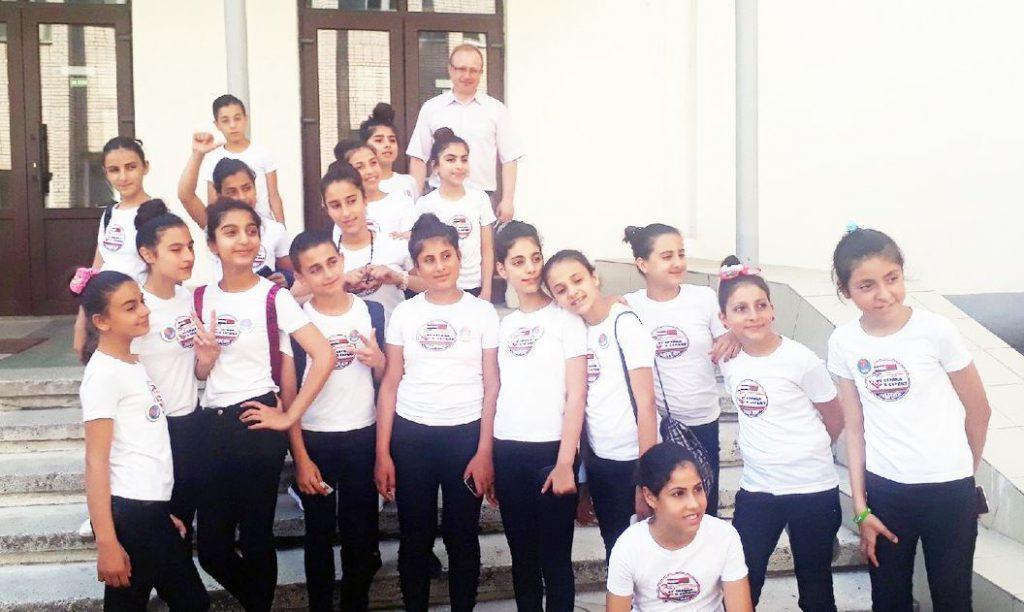 Экскурсия для детей из Сирии