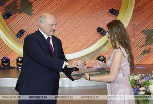 Выпускница БГТУ Ксения Капустина удостоена Благодарности Президента Беларуси