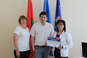 Стажировка преподавателя из Кыргыстана на кафедре ЛП и СПС