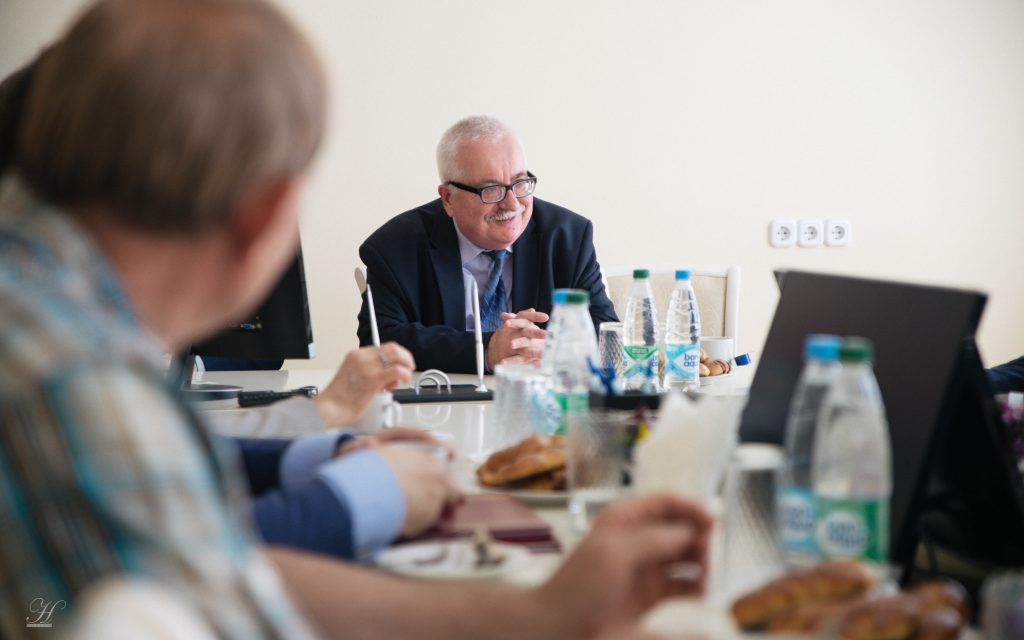Подписание договора со Сколково (22 мая 2019)