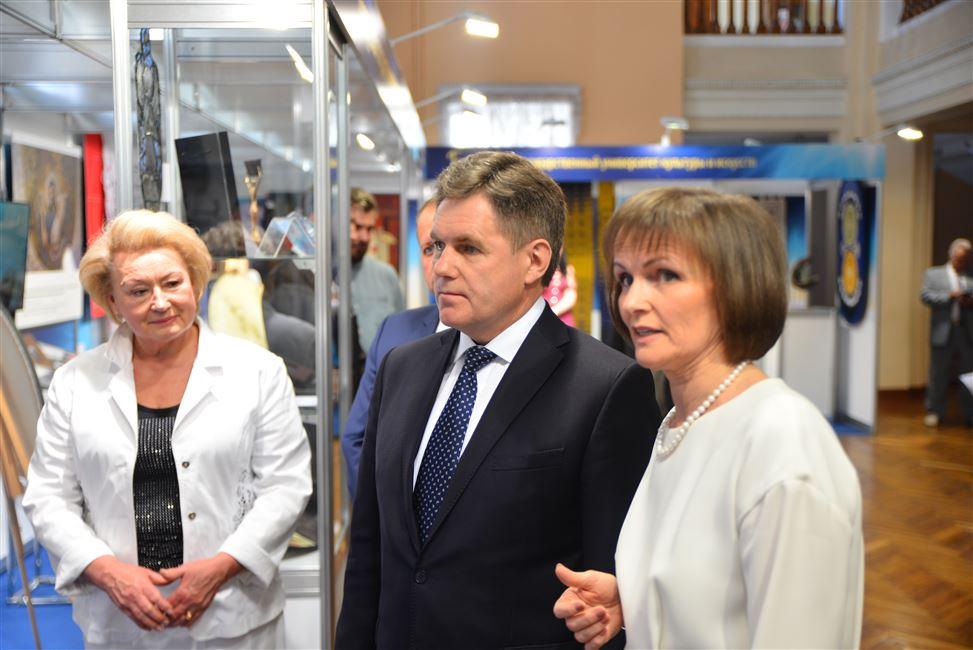 Заместитель Премьер-министра Республики Беларусь встретился с одаренной молодежью