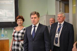 Заместитель Премьер-министра Республики Беларусь И.В. Петришенко посетил БГТУ