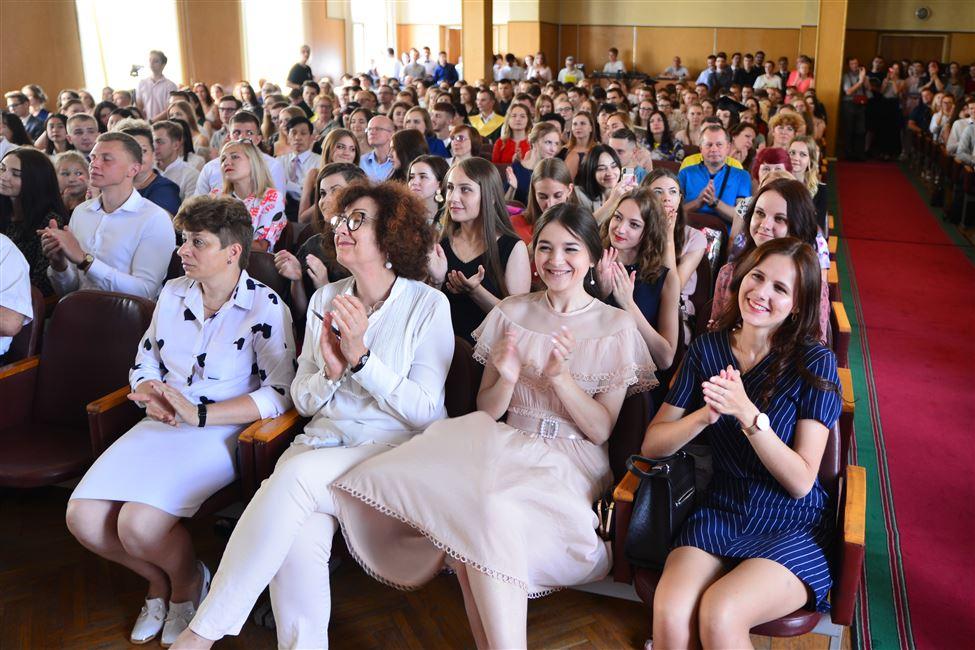 Игорь Войтов: «Двери альма-матер всегда открыты для выпускников». В БГТУ состоялось вручение дипломов
