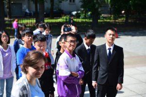 Школьники из Китайской Народной Республики посетили БГТУ