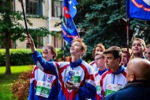 Фотофакт: БГТУ принял участие в Минском полумарафоне-2019