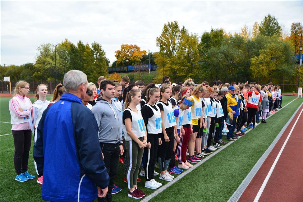 Соревнования по легкоатлетическому кроссу прошли в БГТУ