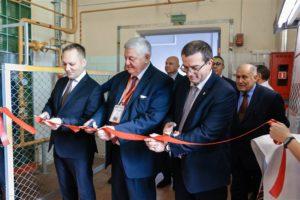 Торжественное открытие центра стекла и керамики БГТУ состоялось в рамках форума «Нефтехимия-2019»