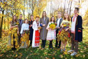 Осеннее дефиле «Белорусочка»