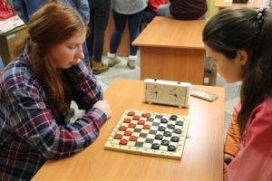 Соревнования по шашкам среди общежитий