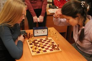Соревнования по шахматам среди общежитий