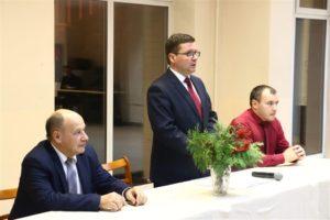 Встреча Заместителя главы администрации Ленинского района г.Минска Виктора Довнара со студентами