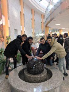 Экскурсия в Национальную библиотеку для иностранных студентов БГТУ