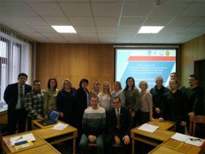 Обучающий семинар для специалистов Витебского отделения БелТПП