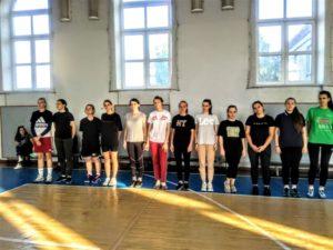 Соревнования по баскетболу 3х3 среди девушек