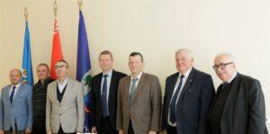 В БГТУ состоялась встреча с руководством Представительства Россотрудничества в Республике Беларусь