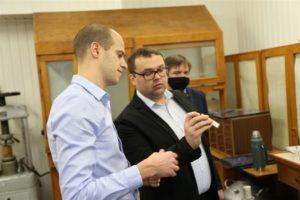 Представители компании «Декатлон» посетили БГТУ
