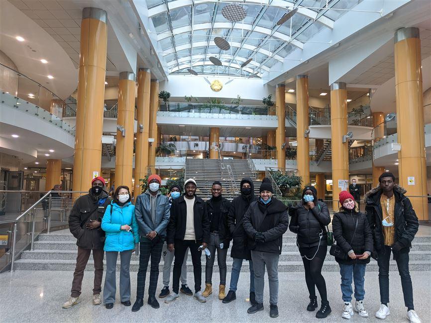 Экскурсия в Национальную библиотеку РБ